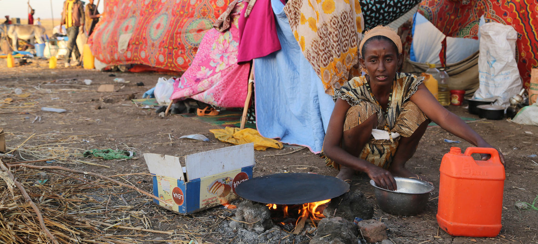Al menos 1,6 millones de personas han sido desplazadas por el conflicto en el Tigray.