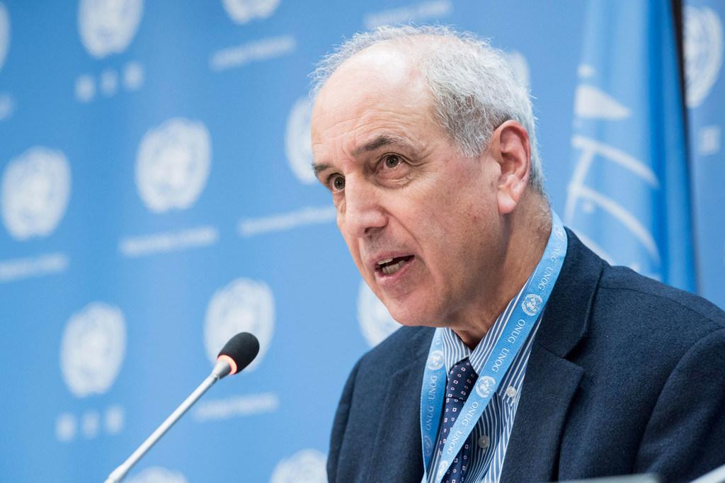 El relator especial sobre la situación de los derechos humanos en los territorios palestinos ocupados desde 1967, Michael Lynk.