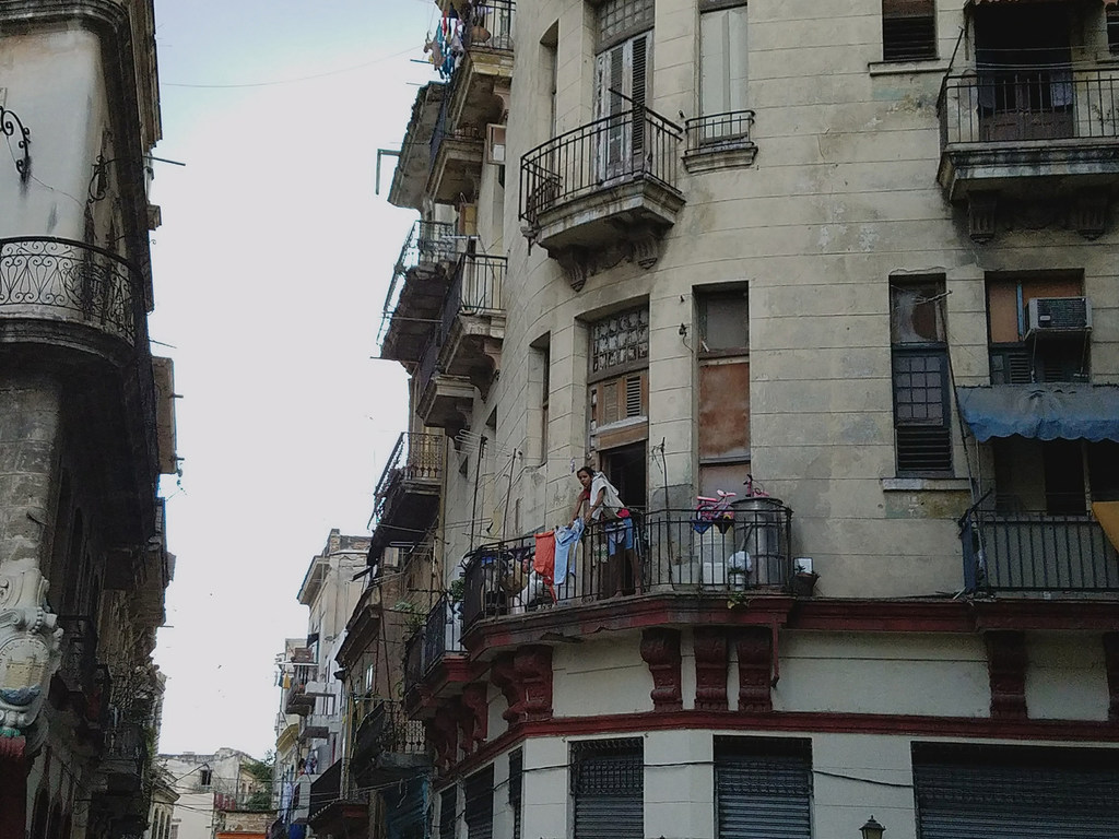 Una imagen cotidiana de La Habana.