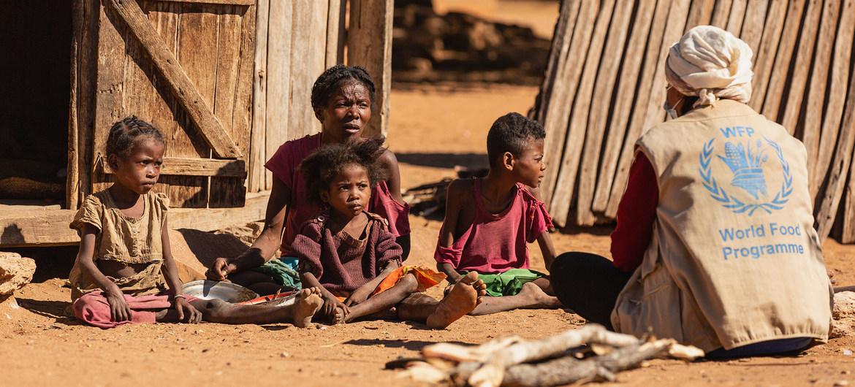 La pobreza y la sequía causaron una aumento grave del hambre en el sur de Madagascar.