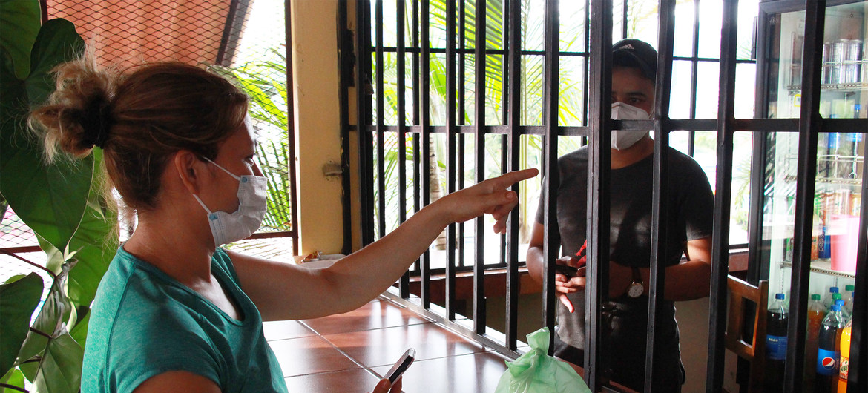 Escenas de la vida cotidiana en Honduras durante la pandemia de COVID-19.