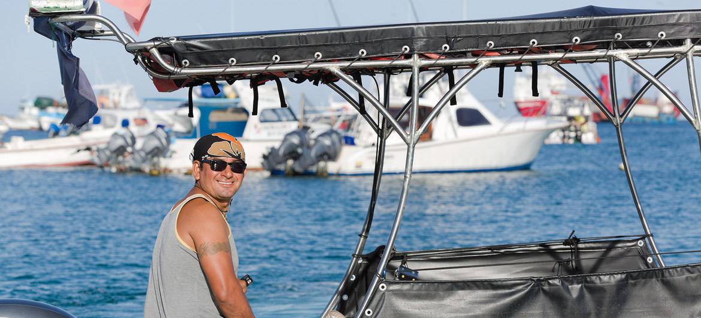 El 80% de los habitantes de las Islas Galáapagos depende del turismo para sobrevivir.