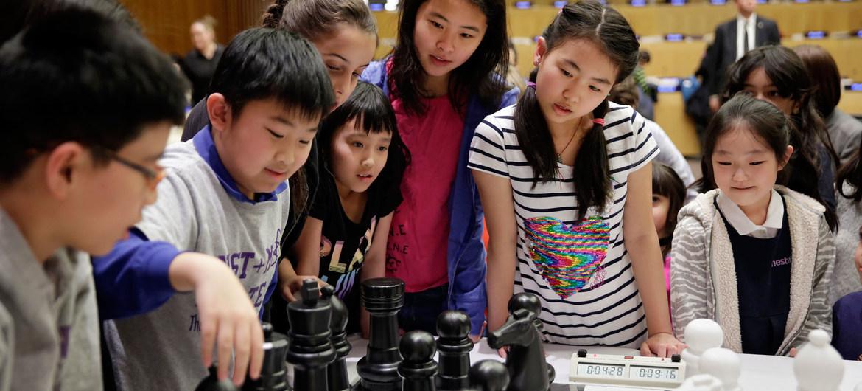 La ONU reconoce al ajedrez como un juego promotor de la justicia, la inclusión y el respeto mutuo.