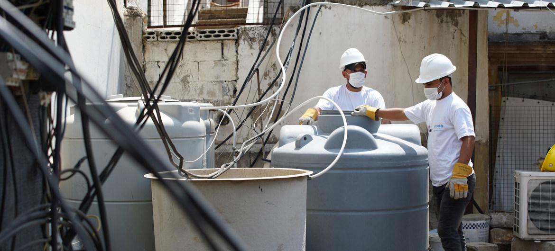 El sistema de suministro de agua en Líbano está al borde del colapso