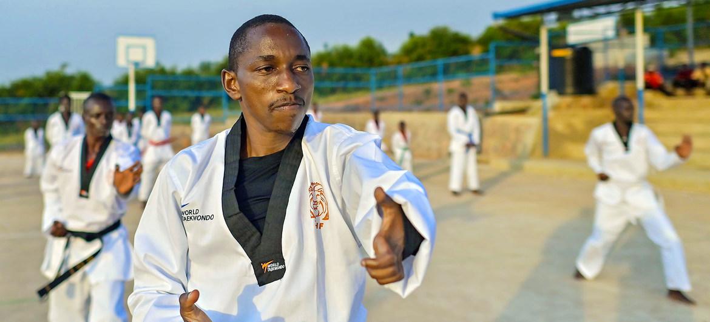 El burundés Parfait Hakizimana subirá al escenario en Tokio como parte del Equipo Paralímpico de Refugiados.