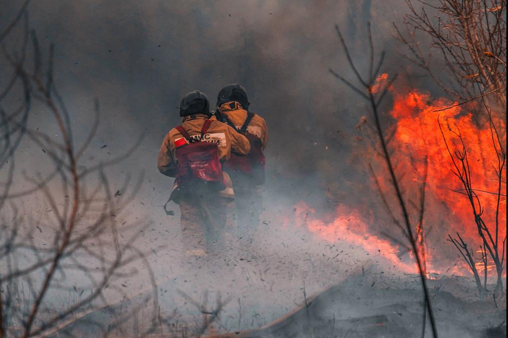 El cambio climático aumenta el riesgo de temperaturas cálidas y secas que puede favorecer los incendios forestales.