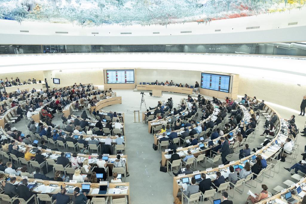 Reunión del Consejo de Derechos Humanos. Foto de archivo.