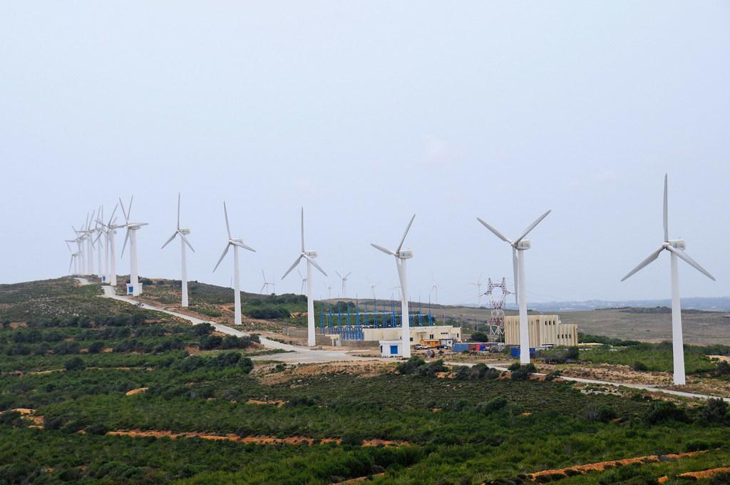 Las energías limpias y renovables jugarán un papel clave en la reducción de los efectos del cambio climático. Foto: Banco Mundial/Dana Smillie