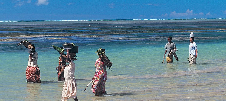 Los pescadores de las Islas Comoras buscan adaptarse al cambio climático.