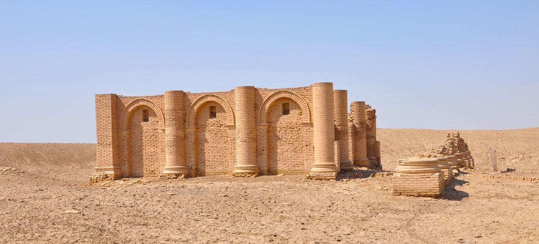 El Templo de Charyos, en el sur de Iraq, fue construido en la misma época que se grabó la Tabla del Sueño de Gilgamesh en Mesopotamia.