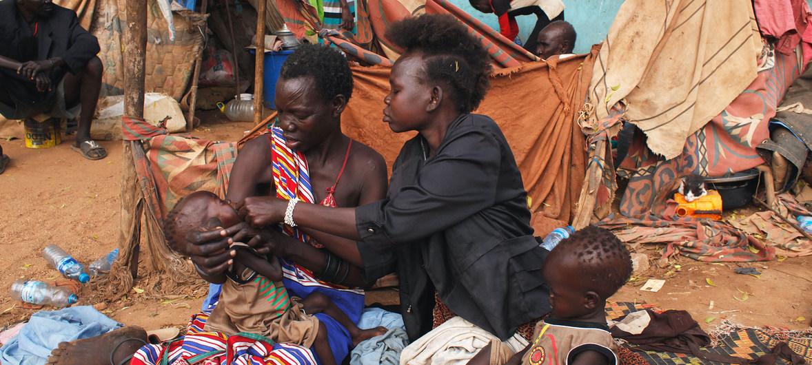 Pobreza en Juba, Sudán del Sur.