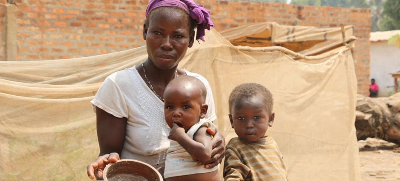 Un 70% de las personas que sufren hambre en el mundo son mujeres.