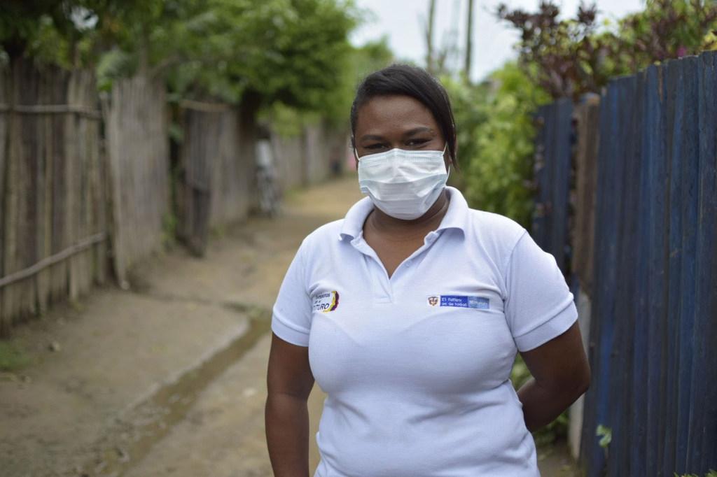 Rosa Duarte ha sobrevivido a la violencia y a la pandemia sabiendo reinventar su trabajo.