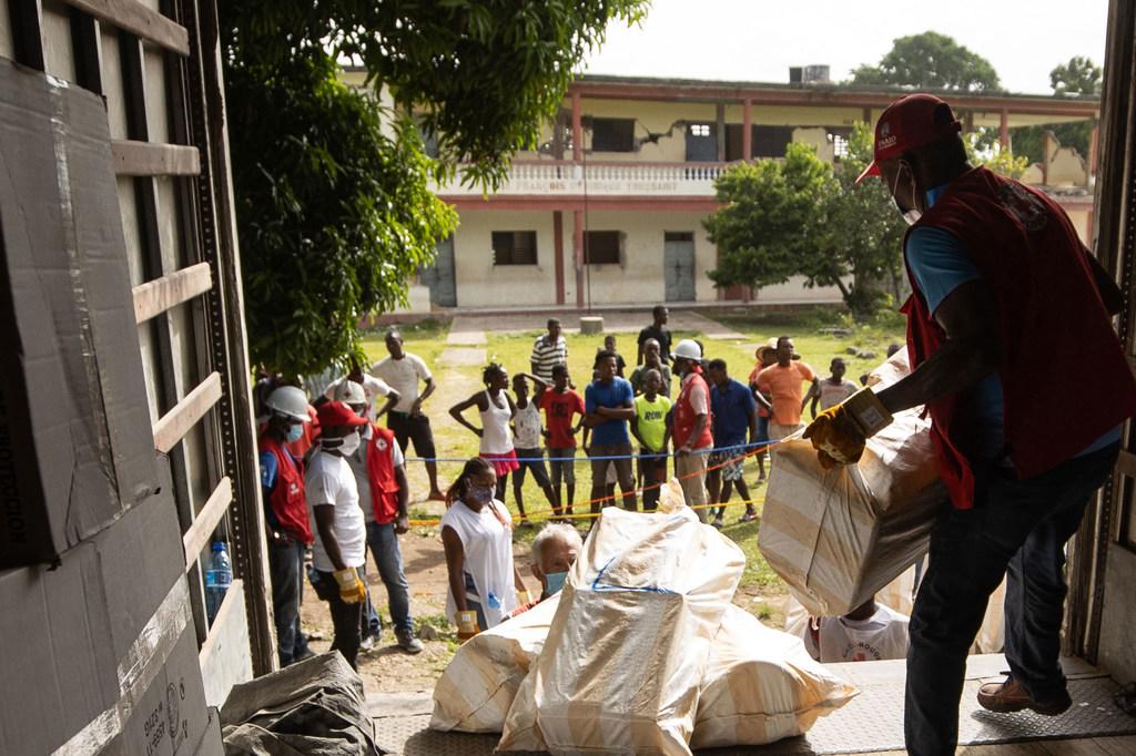 Haití es uno de los países más pobres del mundo y gran parte de su población depende de la ayuda humanitaria.