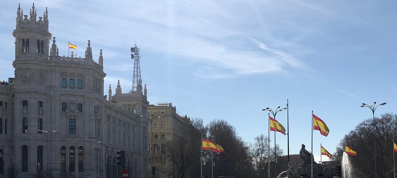 Imagen dela captal de España, Madrid.