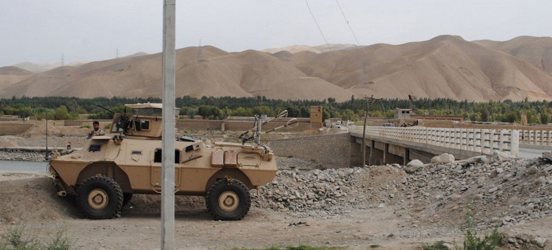 Imagen de la provincia afgana de Kunduz.