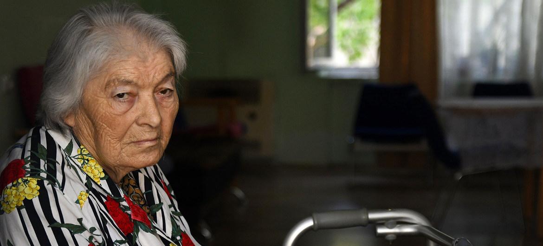 El PNUD brinda servicios de cuidado y mejora las condiciones de vida de las personas mayores que lo necesitan en Georgia.